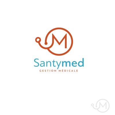 logo santymed logiciel gestion medicale