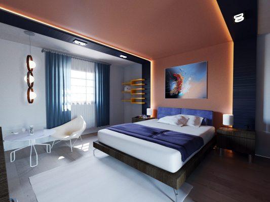 modelisation 3d hotel